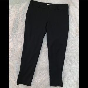 Black skinny work slacks pants 16 W Michael Kors